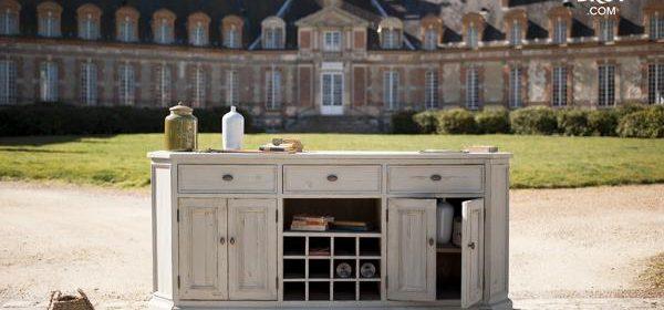 This French sideboard is a wonderful example of shabby chic furniture