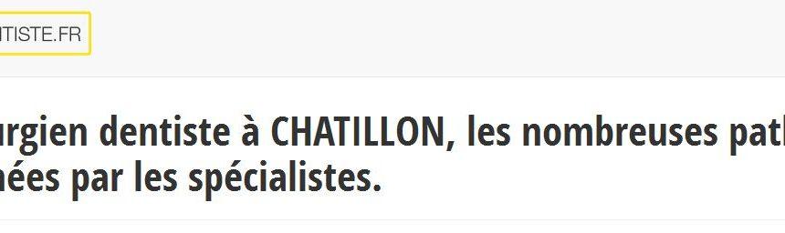 Les coordonnées des dentistes à Chatillon sont disponibles sur le site ton-dentiste.fr
